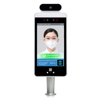 QR Code Temperature Face Recognition RS 8001E1